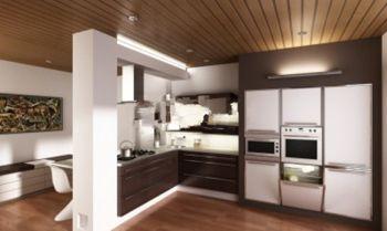 طرح اروپایی آشپزخانه فایل 3d