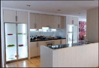 طرح 3 بعدی آشپزخانه شیک