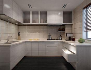 طرح آشپزخانه روشن 3D