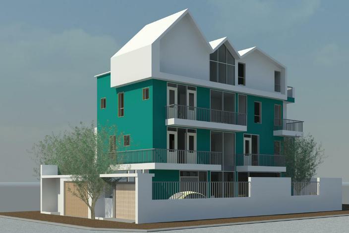 مدل خانه 3 بعدی (اسکچاپ)