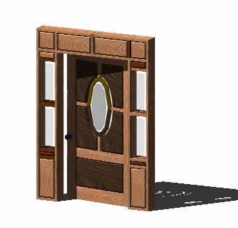 فایل سه بعدی در چوبی در اتوکد
