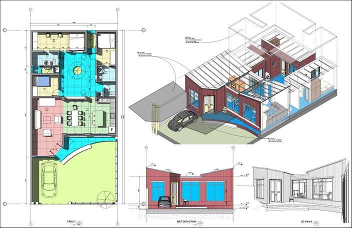 طرح کامل خانه 10*20 متری