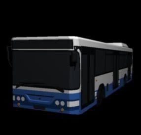 طرح 3 بعدی اتوبوس dwg