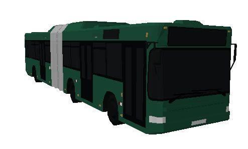 مدل 3 بعدی اتوبوس برای اتوکد