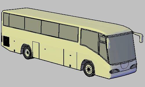 مدل 3 بعدی اتوبوس