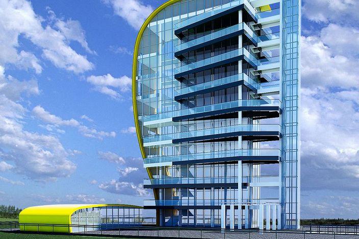 مدل 3 بعدی برج skp