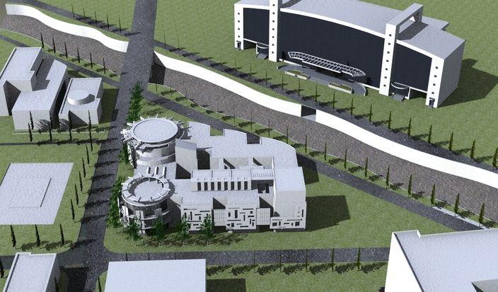 طرح کامل ساختمان کار شده با گوگل اسکچاپ