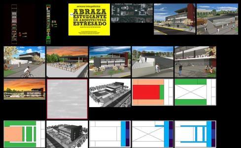 پروژه کامل دانشگاه ملی la plata آرژانتین