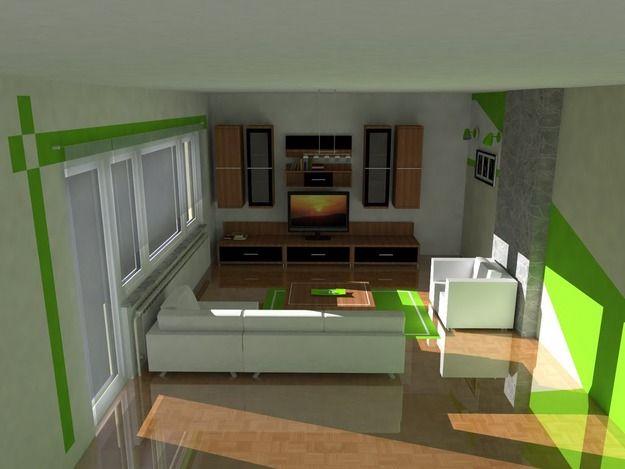 طرح داخلی اتاق نشیمن sketchUp