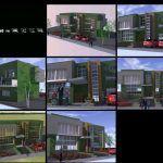 پروژه کامل خانه ویلایی با زیربنای 150 متر مربعی