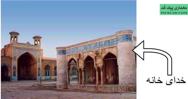 مسجد جامع عتیق شیراز : قرن 3